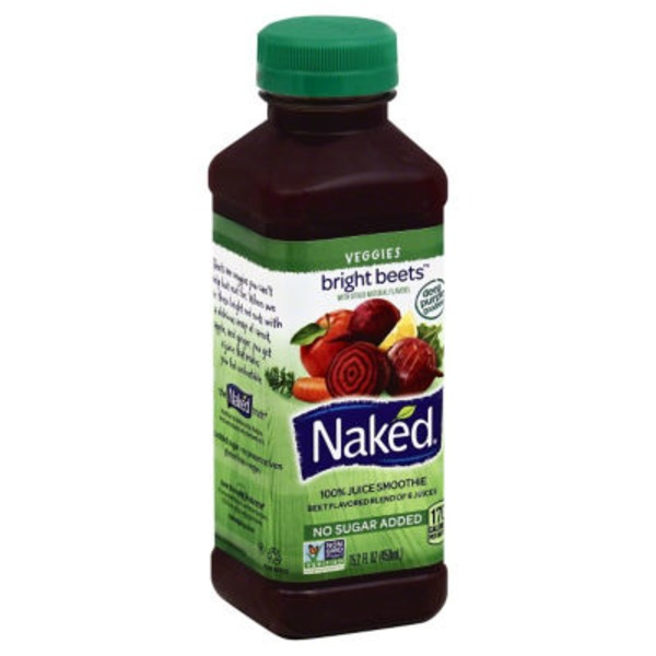 Naked Juice Bright Beets 100% Juice Smoothie