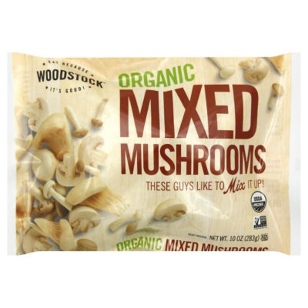 Woodstock Farms Organic Mixed Mushrooms