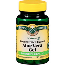 Spring Valley Aloe Vera Dietary Supplement Softgels