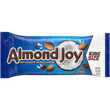 Almond Joy King Size Candy Bar