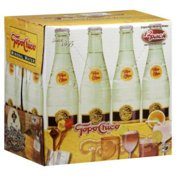 Topo Chico Imported Mineral Water