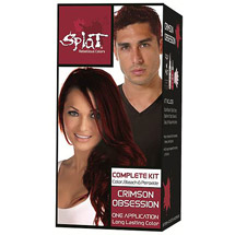 Splat Bold Hair Color Semi Permanent Kit; Crimson Obsession