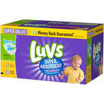 Luvs Leakguards Super Absorbent Diapers Super Pack Size 5