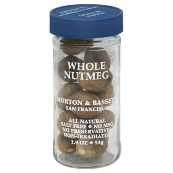 Morton & Bassett Spices Whole Nutmeg