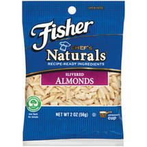 Fisher Chefs Naturals Slivered Almonds