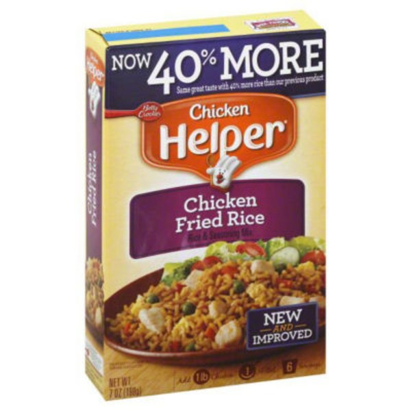 Betty Crocker Chicken Fried Rice Chicken Helper