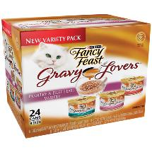 Fancy Feast Gravy Lovers Variety pk Canned Cat Food