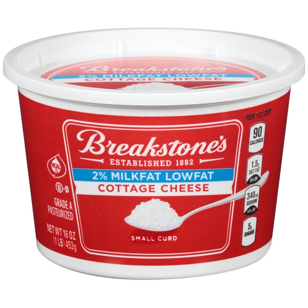 Breakstone's Large Curd Lowfat Cottage Cheese