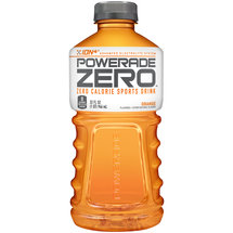 Powerade Zero Calorie Orange  Ion4 Sports Drink 32 Fl Oz
