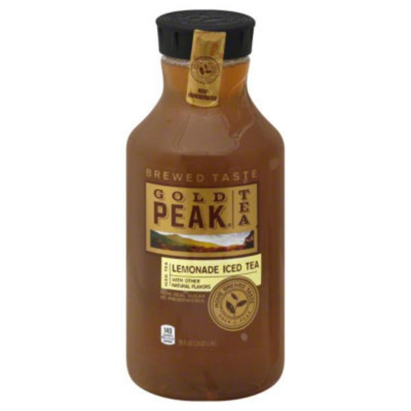 Gold Peak Lemonade Iced Tea Iced Tea