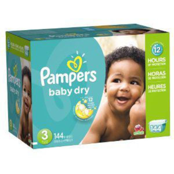 Pampers Baby Dry Pampers Baby Dry Diapers Size 3 144 Count Diapers