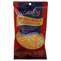 Haolam Natural Fancy Mozzarella & Cheddar Shredded Cheese