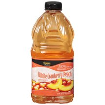 Great Value Sam's Choice White Cranberry Peach Juice