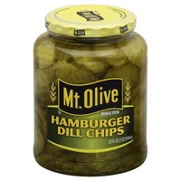 Mt. Olive Hamburger Dill Chips Pickles