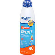 Equate Sport Continuous Spray SPF 30