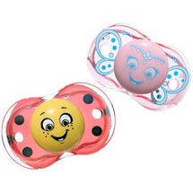 RazBaby  Keep-It-Kleen Pacifier Bundle Ladybug/Princess