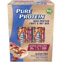 Pure Protein Cranberry Almond Cashew High Protein Fruit & Nut Bars