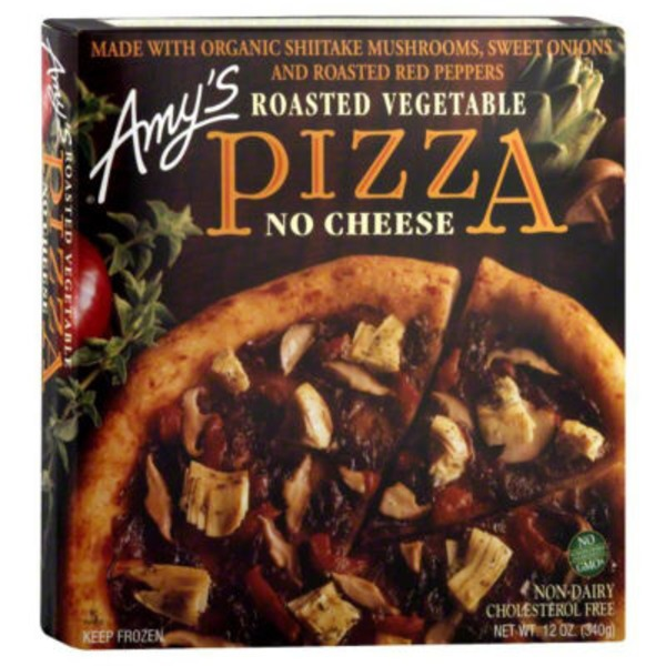 Amy's Pizza Roasted Vegetable No Cheese