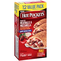 Hot Pockets Meatballs & Mozzarella Sandwiches