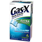 Gas-X Extra Strength Antigas Peppermint Thin Strips
