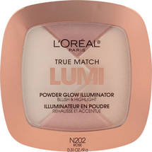 L'Oreal Paris True Match Lumi Powder Glow Illuminator C302 Ice Rose N 202