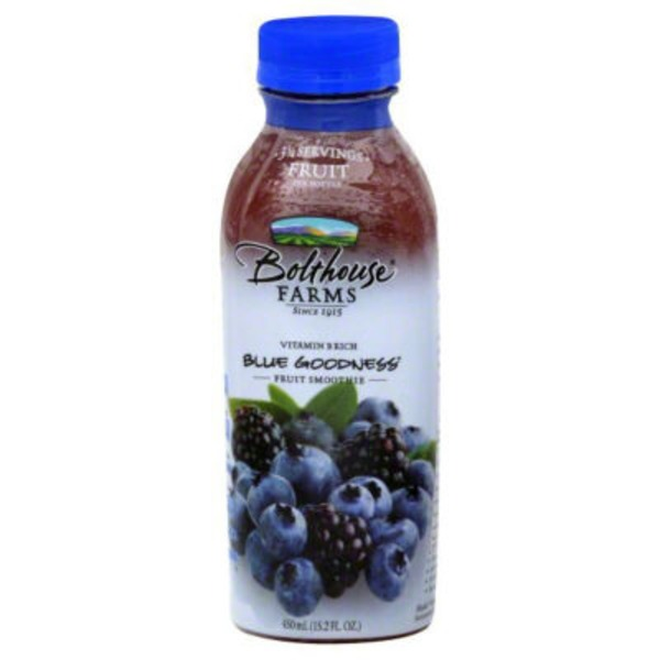 Bolthouse Farms Blue Goodness 100% Fruit Juice Smoothie + Boosts