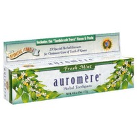Auromere Ayurvedic Herbal Fresh Mint Toothpaste