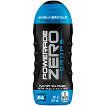 Powerade Zero Mountain Berry Blast Flavor Enhancer Drops with Electrolytes