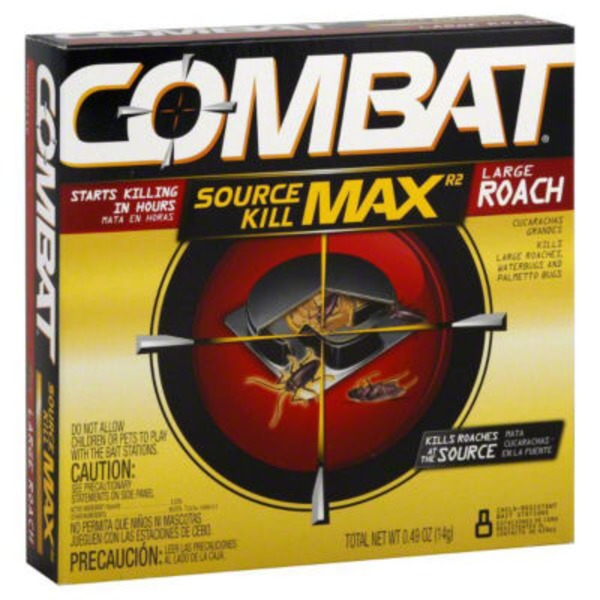 Combat Max Roach Killing Large Bait Stations