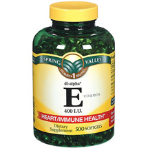 Spring Valley E Vitamin Dietary Supplement