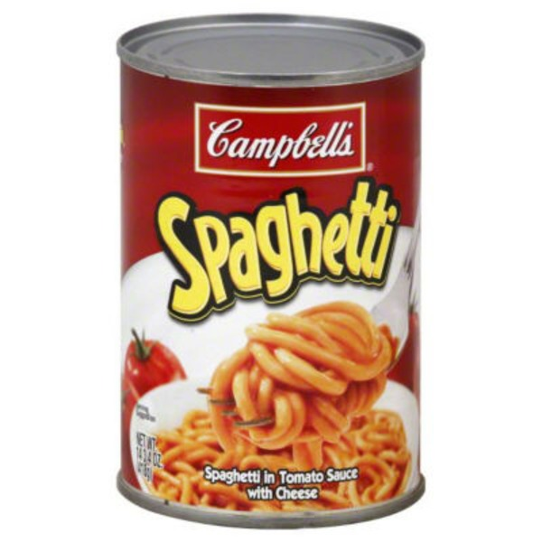 Spaghettios Original plus Calcium Canned Pasta