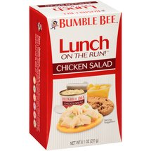 Bumble Bee Lunch on the Run! Chicken Salad