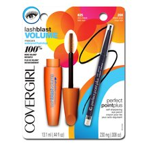 COVERGIRL LashBlast Volume Blasting Waterproof Mascara & Perfect Point Plus Eyeliner
