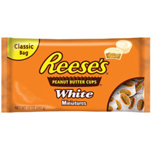 Reeses Cups Peanut Butter White Chocolate Miniatures