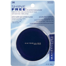 Maybelline New York Shine Free Oil Control Loose Powder Medium