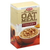 H-E-B Instant Oatmeal Cinnamon And Spice