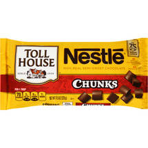 Nestle Toll House Real Semi-Sweet Chocolate Chunks