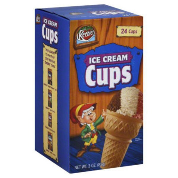 Keebler Ice Cream Cups