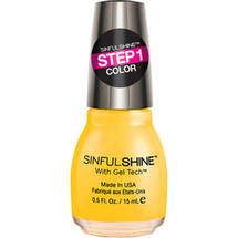 SinfulColors SinfulShine Step 1 Color Nail Color Banana Apparel