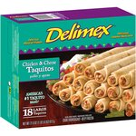 Delimex Chicken & Cheese Large Taquitos