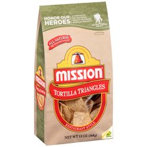 Mission Restaurant Style Tortilla Triangles