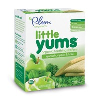 Plum Baby Little Yums Spinach Apple & Kale Teething Wafers