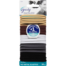 Goody Ouchless No Metal Elastics Java Bean