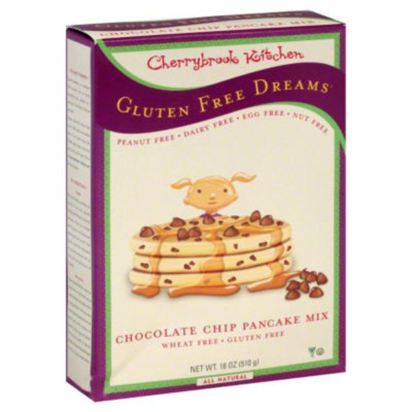 Cherrybrook Kitchen Gluten Free Chocolate Chip Pancake Mix