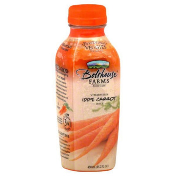 Bolthouse Farms 100% Carrot Juice