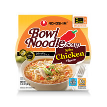 Nong Shim Spicy Chicken Flavor Bowl Noodle Soup