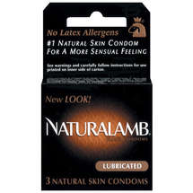 Trojan Natural Lamb All Natural Condoms