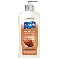 Suave Smoothing with Cocoa Butter and Shea Body Lotion