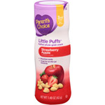 Parent's Choice Little Puffs Strawberry Apple Puffed Whole-Grain Snack