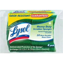 Lysol Heavy Duty Scrubber Sponges